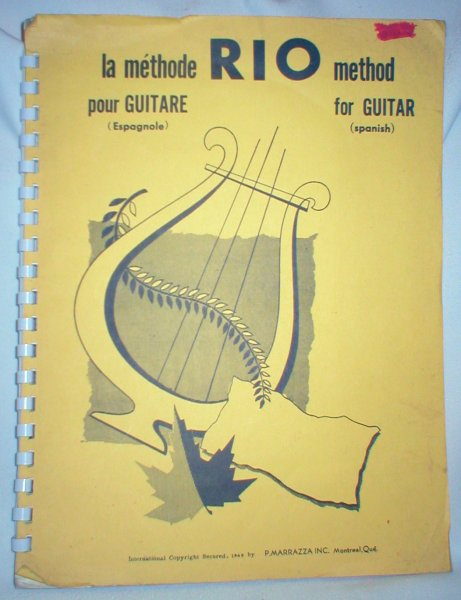 Image for Rio Method for Guitar; La Methode Pour Guitare