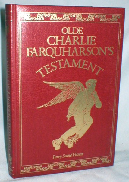 Image for Olde Charlie Farquharson's Testament; From Jennysez to Jobe and After Words