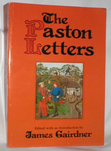 Image for The Paston Letters