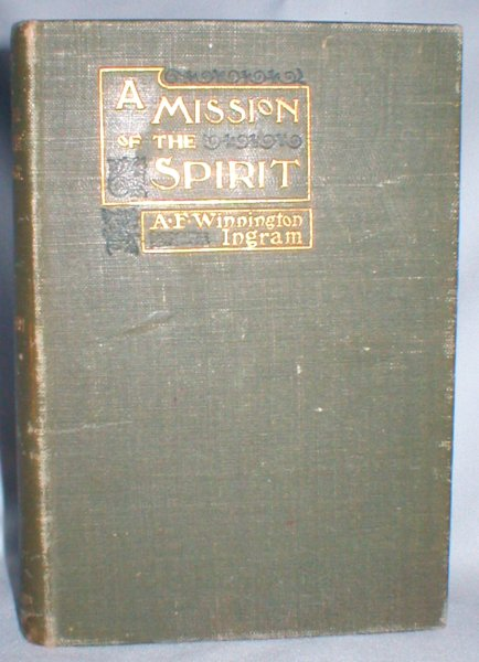Image for A Mission of the Spirit