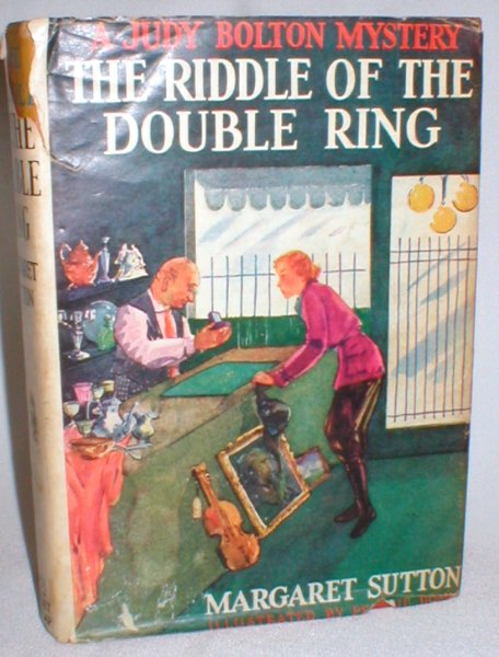 Image for The Riddle of the Double Ring (A Judy Bolton Mystery #10)