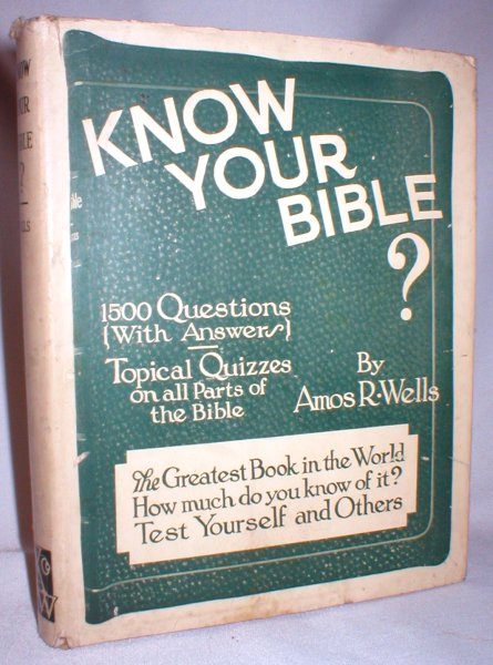 Image for Know Your Bible ?