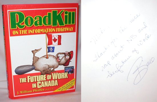 Image for Roadkill on the Information Highway; The Future of Work in Canada