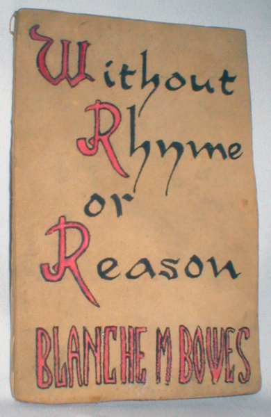 Image for Without Rhyme or Reason