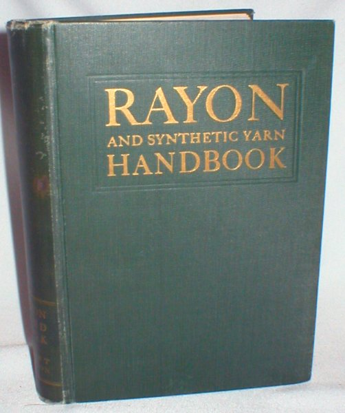 Image for Rayon and Synthetic Yarn Handbook