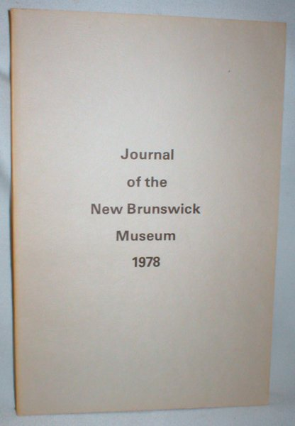 Image for Journal of the New Brunswick Museum 1978
