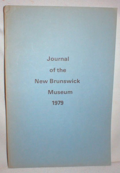 Image for Journal of the New Brunswick Museum 1979