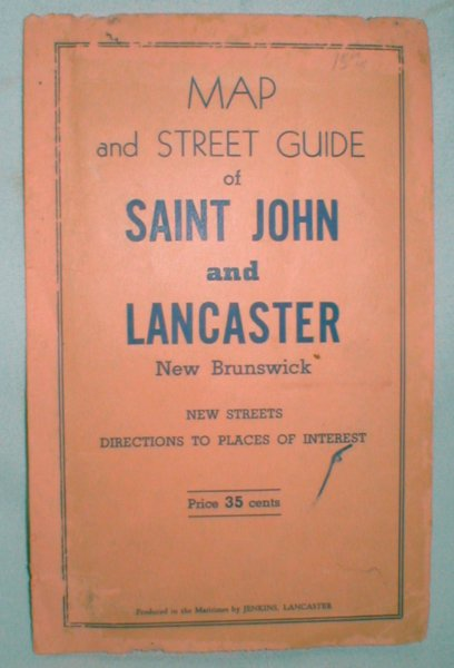 Image for Map and Street Guide of Saint John and Lancaster (New Brunswick)
