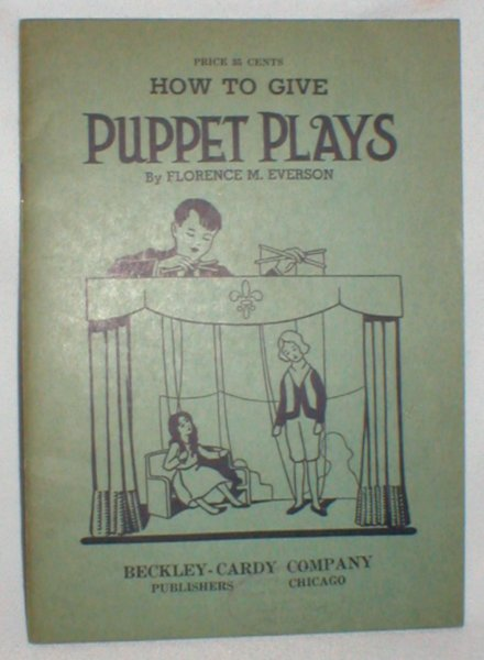 Image for How to Give Puppet Plays