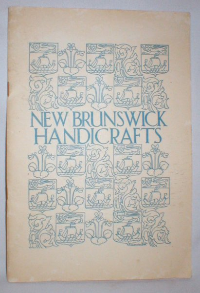 Image for The Blue Book of New Brunswick Craftsmen and Handicrafts Shops
