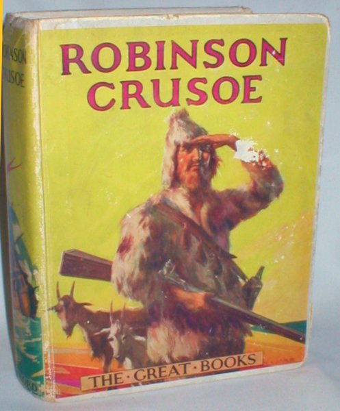 Image for Robinson Crusoe (The Great Books)