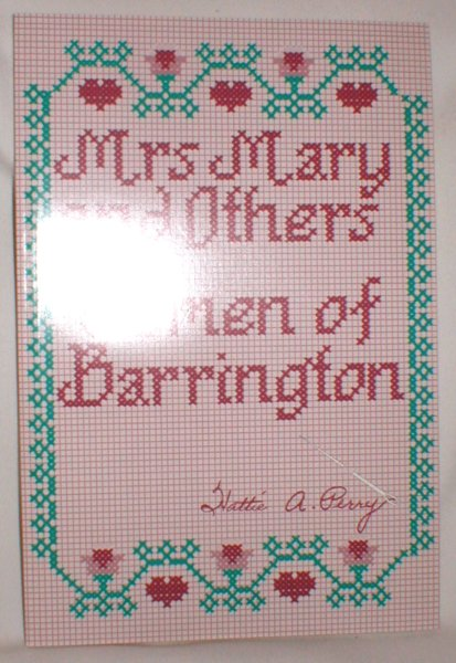 Image for Mrs. Mary and Others; Women of Barrington