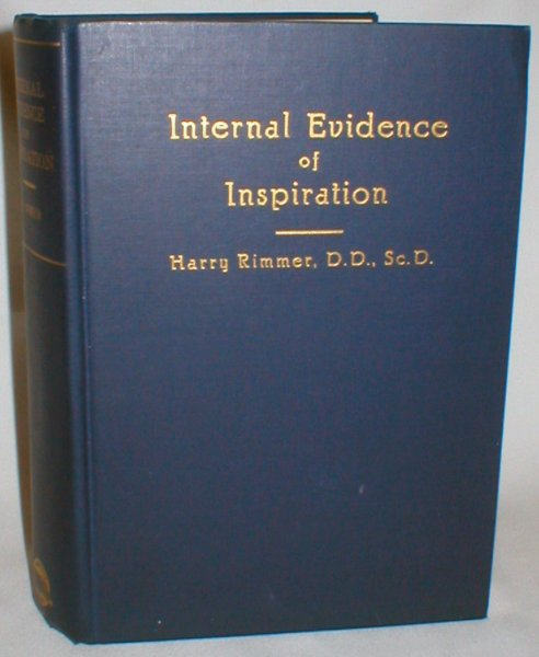Image for Internal Evidence of Inspiration (John Laurence Frost Memorial Library, Volume Three)