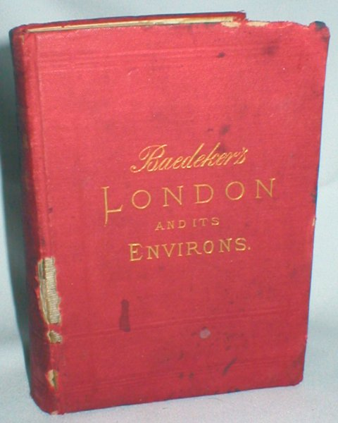 Image for London and Its Environs; Including Excursions to Brighton, The ISle of Wight, Etc