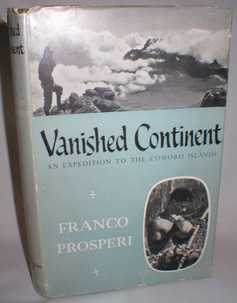 Image for Vanished Continent; An Italian Expedition to the Comoro Islands
