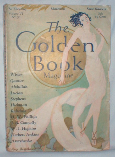 Image for The Golden Book Magazine; Vol. VI, No. 31, July 1927