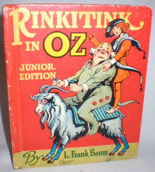 Image for Rinkitink in Oz (Junior Edition)