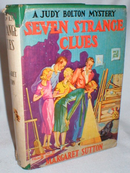 Image for Seven Strange Clues (A Judy Bolton Mystery #4)