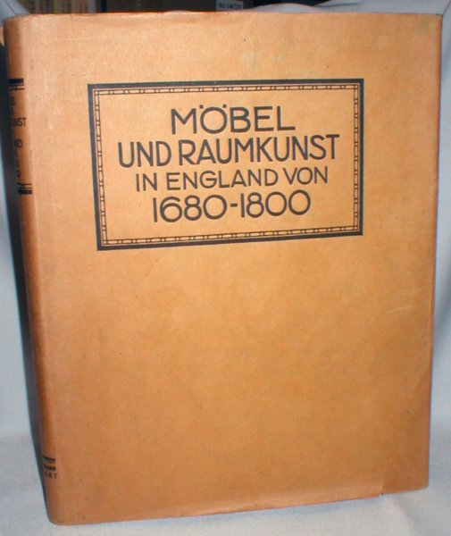 Image for Mobel Und Raumkunst in England 1680-1800