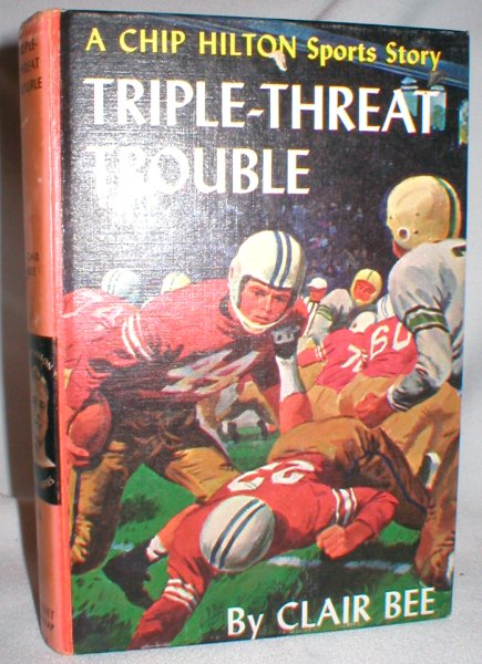 Image for Triple-Threat Trouble (A Chip Hilton Sports Story, #18)