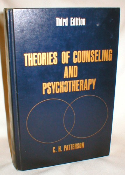 Image for Theories of Counseling and Psychotherapy