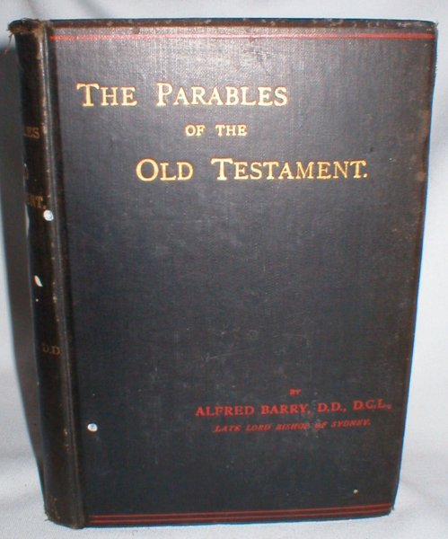 Image for The Parables of the Old Testament