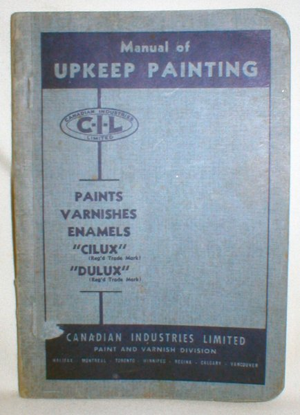 Image for Manual of Upkeep Painting