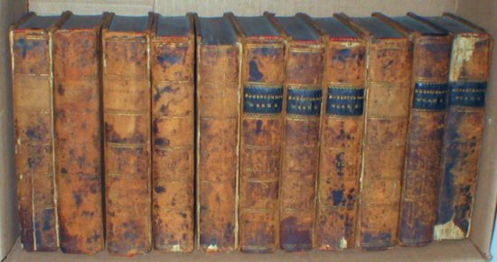 Image for The Historical Works of William Robertson: In Eleven Volumes (Set)