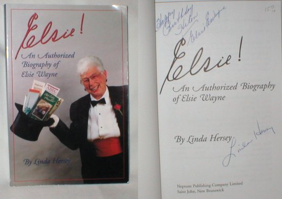 Image for Elsie !; An Authorized Biography of Elsie Wayne
