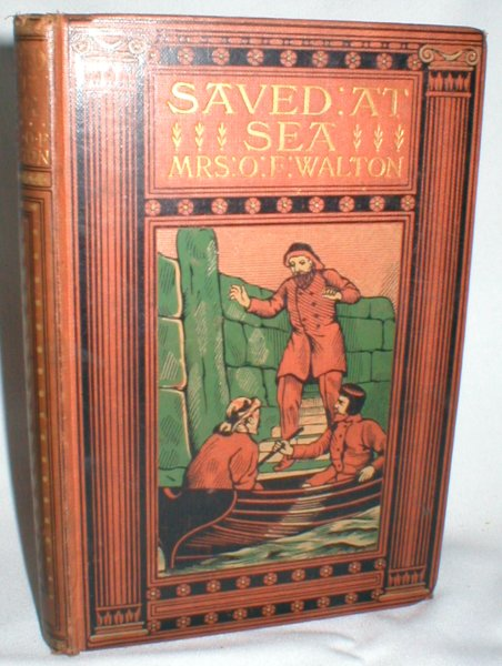 Image for Saved at Sea; A Lighthouse Story