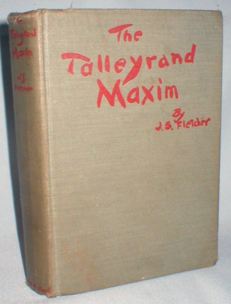 Image for The Talleyrand Maxim