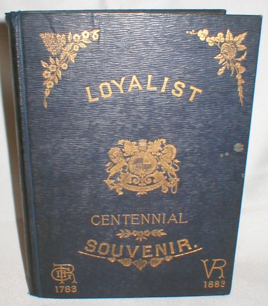 Image for Loyalists' Centennial Souvenir