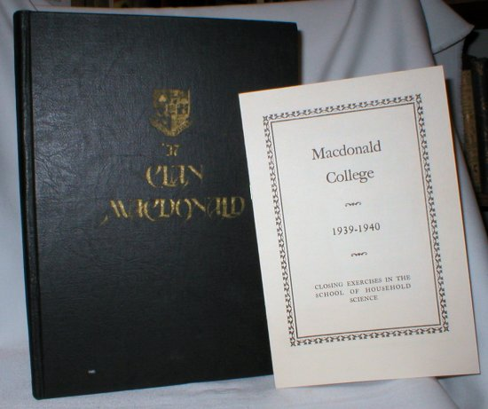 Image for Clan Macdonald; Macdonald College Annual Volume V,1937