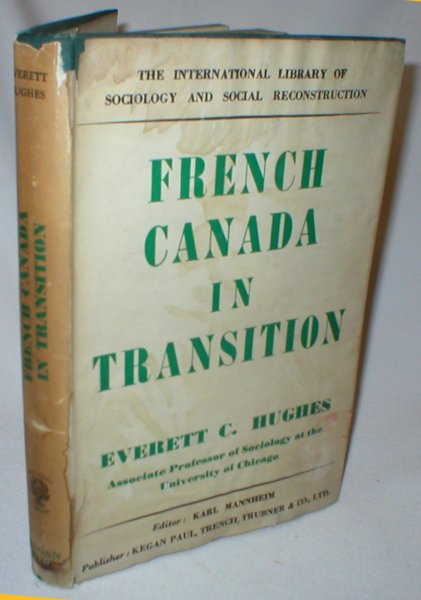 Image for French Canada in Transition