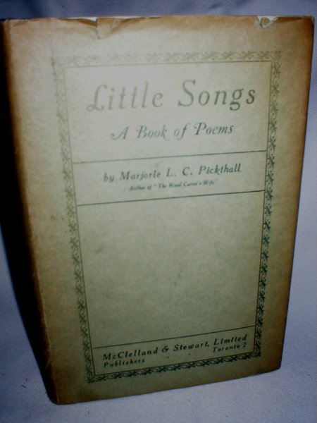 Image for Little Songs; A Book of Poems