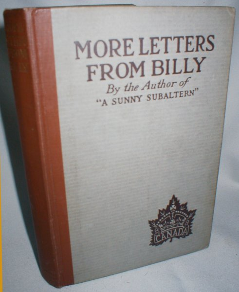 Image for More Letters from Billy