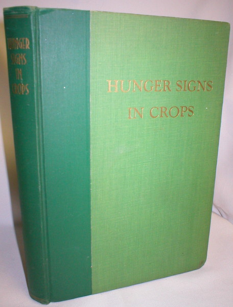 Image for Hunger Signs in Crops; A Symposium