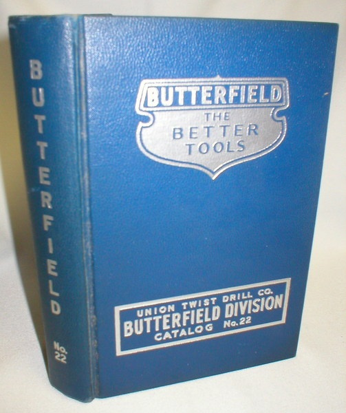 Image for Butterfield Division (Union Twist Drill Co.) Canadian Catalog No. 22