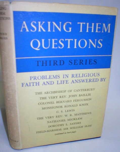 Image for Asking Them Questions; Third Series