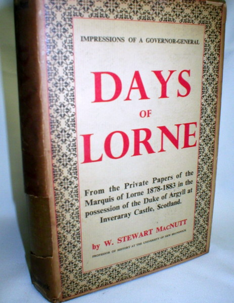 Image for Days of Lorne; Impressions of a Governor-General