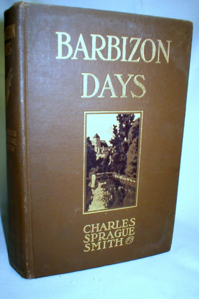 Image for Barbizon Days; Millet, Corot, Rousseau, Barye