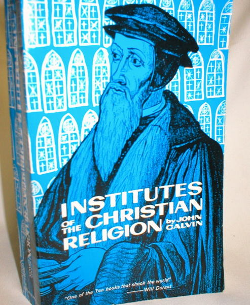 Image for Institutes of the Christian Religion; Volume II