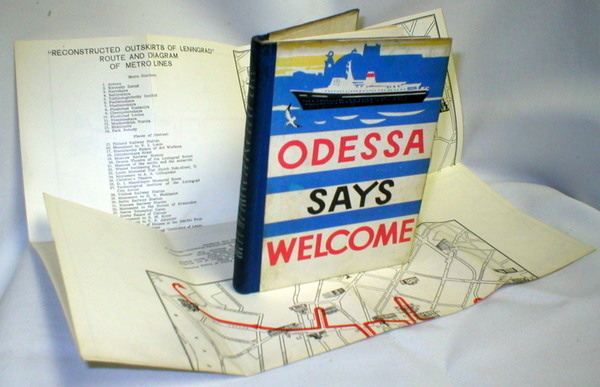 Image for Odessa Says Welcome/ Map of Leningrad
