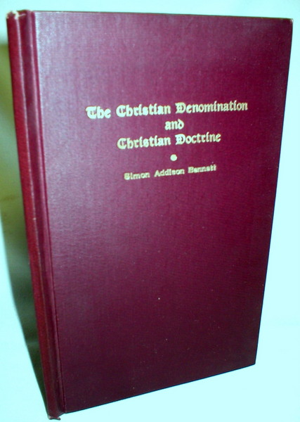 Image for The Christian Denomination and Christian Doctrine