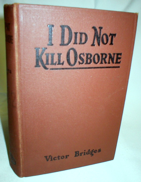 Image for I Did Not Kill Osborne