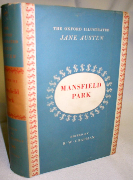 Image for The Novels of Jane Austen in Five Volumes; Volume III, Mansfield Park
