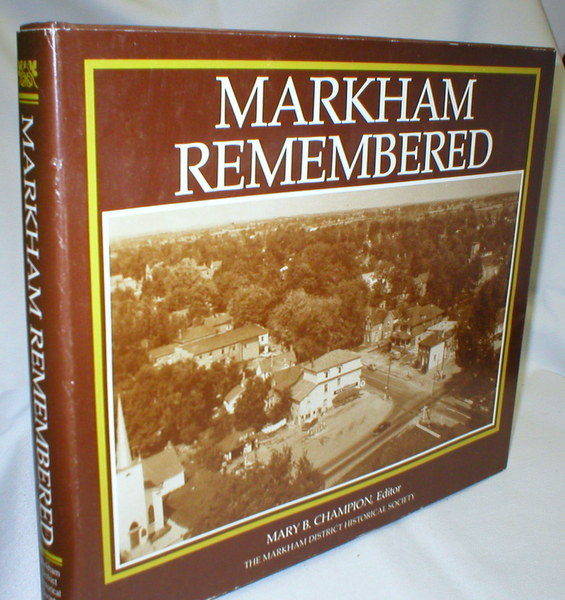 Image for Markham Remembered