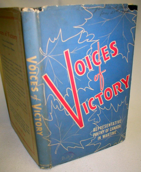 Image for Voices of Victory; Representative Poetry of Canada in Wartime