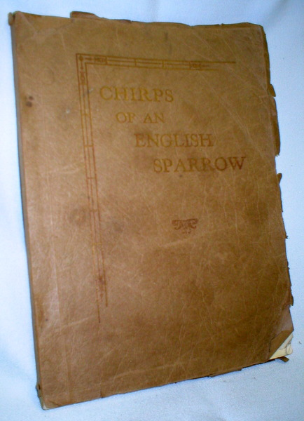 Image for Chirps of an English Sparrow