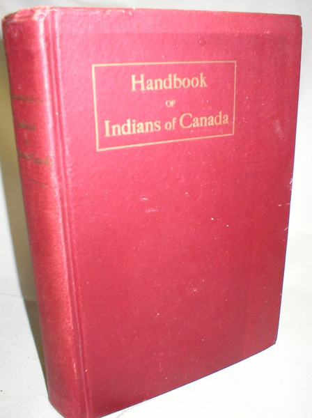 Image for Handbook of Indians of Canada; Sessional Paper No. 21-A